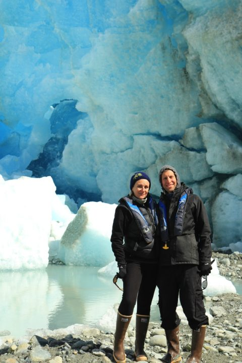 June 30, 2016 Day 9 Alaska (Glacier Bay Day 2 ) Alaska in old tired fleece and new boots